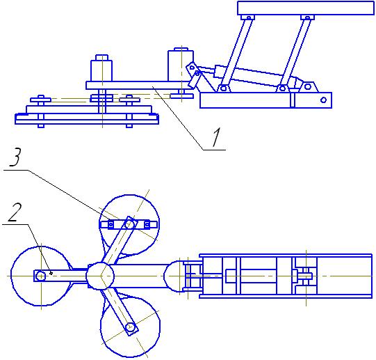 Окашивающая косилка