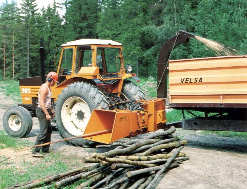 Описание: Рубительная машина HJ6 Junkkari (Финляндия)