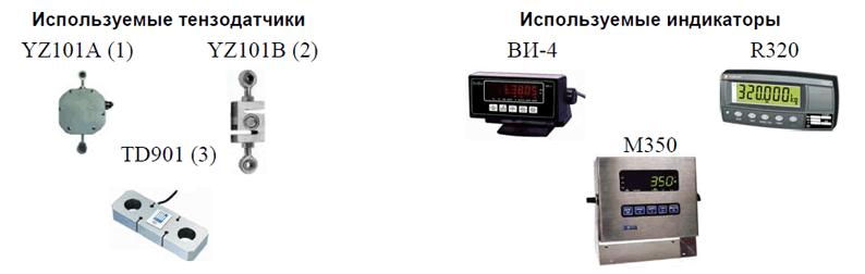 Тензодатчики для ДОР