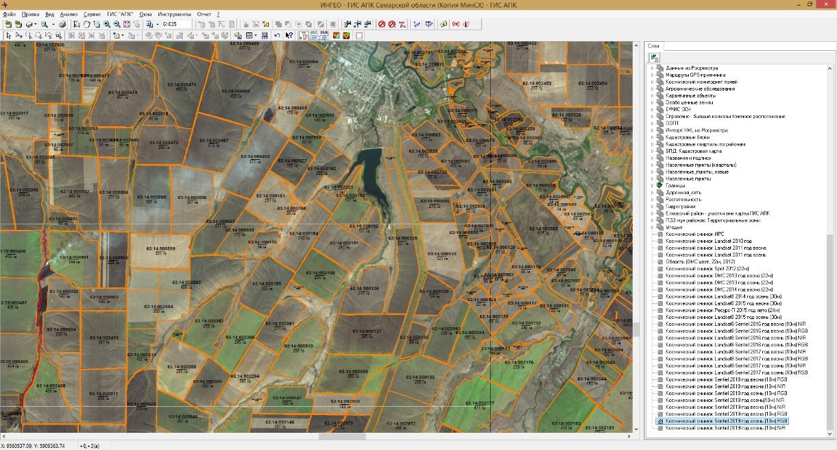 word image 152 Разработка комплексной модели прогнозирования урожайности и валового сбора озимой пшеницы с использованием средств дистанционного зондирования земли на примере условий Самарской области