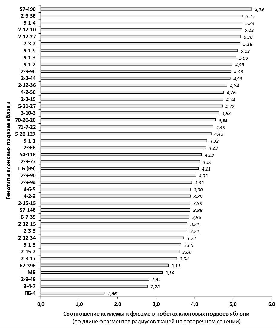 word image 81 Селекция зимостойких слаборослых клоновых подвоев яблони с использованием молекулярных маркеров