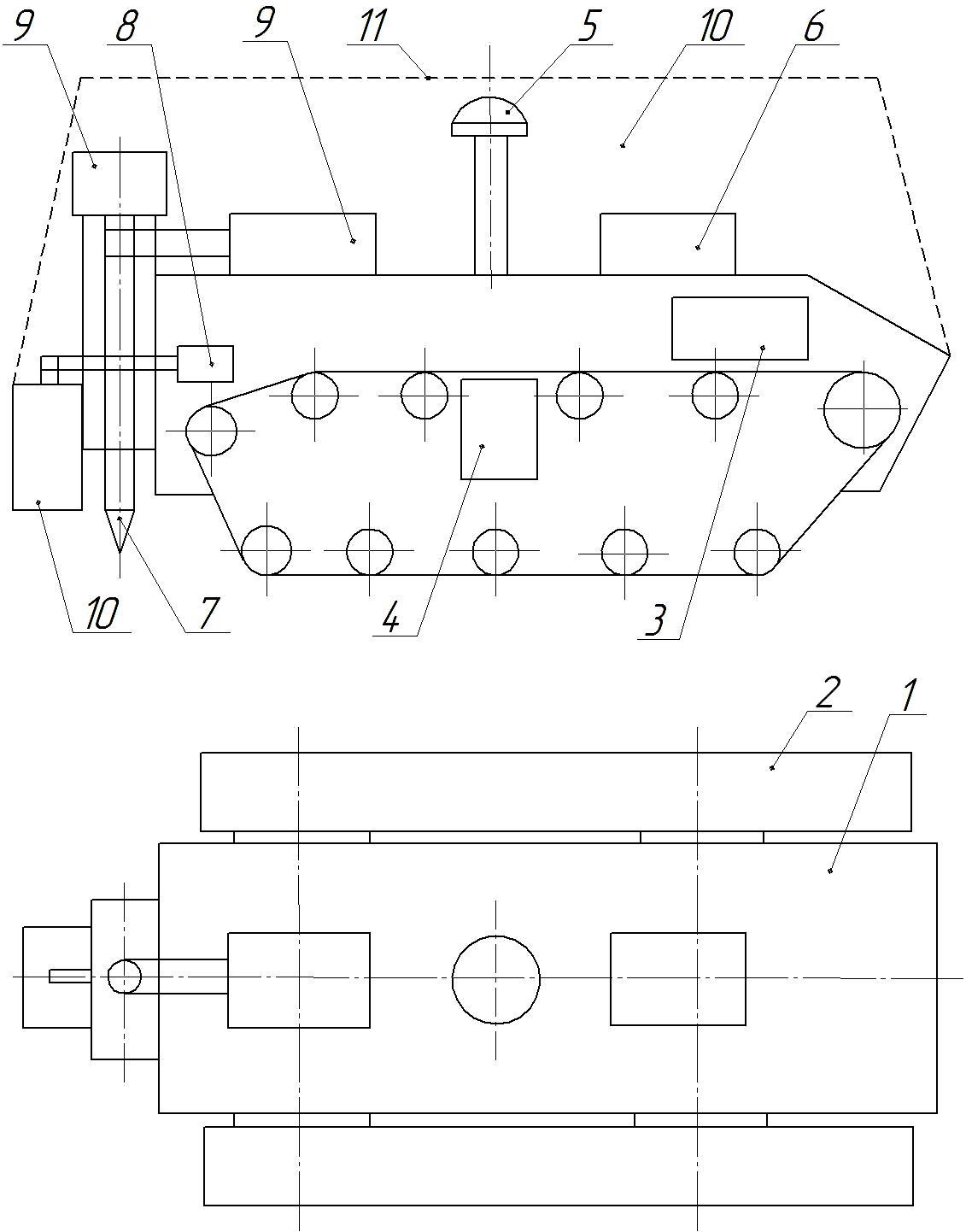 D:\___Отчет для МСХна 29 янв 2021\Чертеж поля и робоплатформы\Робоплатформа - 4 дв гусеница - нов - рис+.jpg