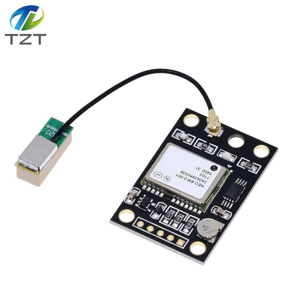 TZT GY NEO6MV2 NEO 6M gps модуль NEO6MV2 с управлением полетом EEPROM управление Лер MWC APM2 APM2.5 большая антенна для Arduino платы- АлиЭкспресс