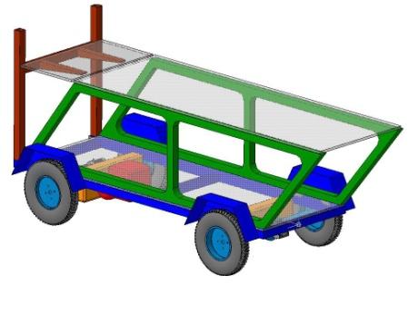 Самоходное шасси плстформа транспорт