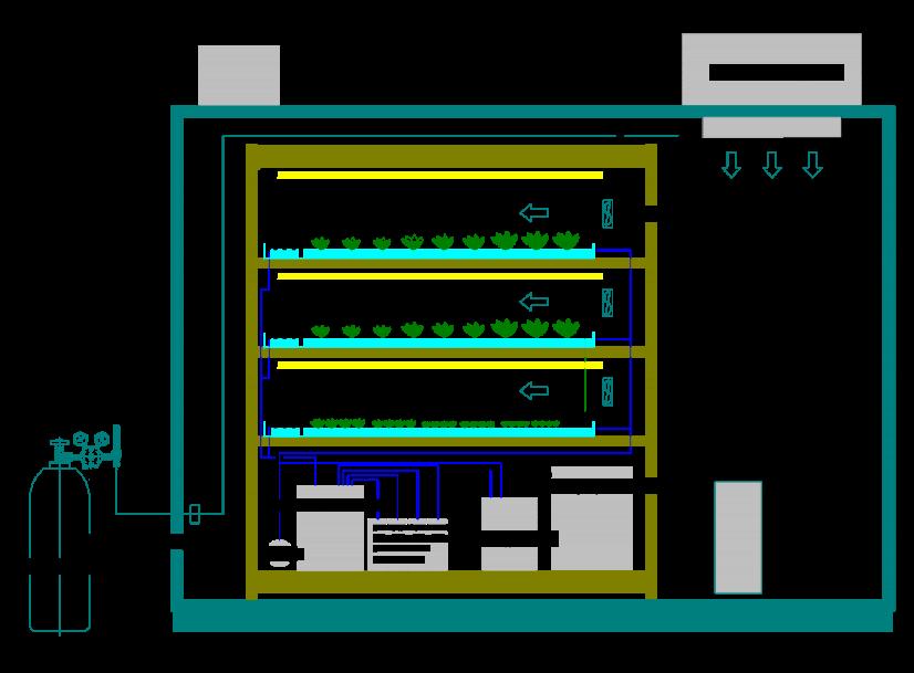 word image 402 Совершенствование технологии производства зеленных культур на рассадно-салатных комплексах зимних теплиц за счет применения почвогрунта на основе древесного волокна и автоматизации технологических процессов