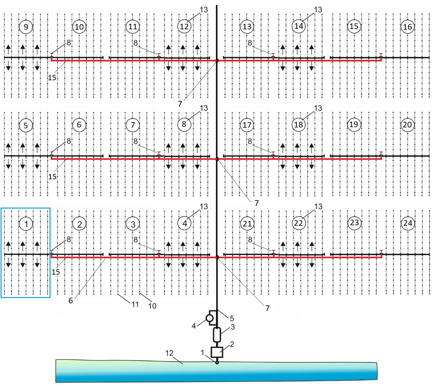 word image 502 Проведение исследований, разработка технологий и подготовка технических предложений на модули передвижной системы капельного орошения сельскохозяйственных культур рядового сева