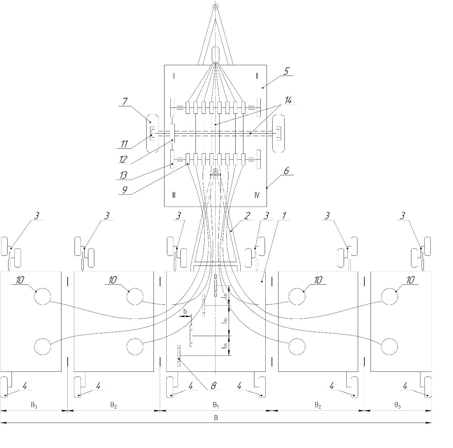 word image 244 Разработка конструктивной схемы и обоснование параметров почвообрабатывающего посевного агрегата с пневматическим высевом семян для тракторов класса тяги 5